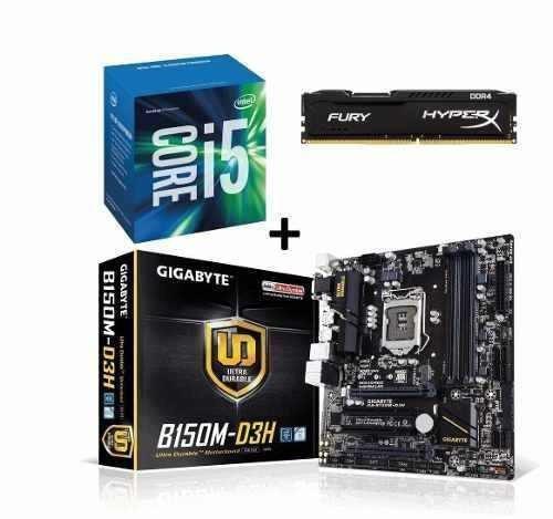 Pc Intel I5 7400, H110m, 8gb Ddr4, Ssd120, Hd 2tb, 500w, Dvd