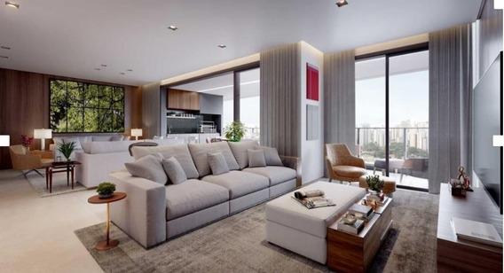 Apartamento À Venda, Cidade Monções, 189m², 4 Suítes, 4 Vagas! Entrega Abr/2022! - Cv476