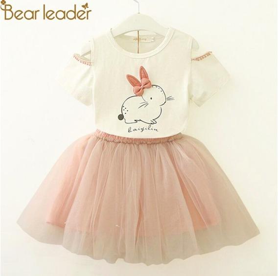 Vestido Niña Conejo