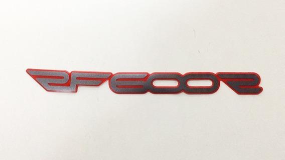 Emblema Adesivo Lateral Rabeta Suzuki Rf600r 68131-21e00-a02