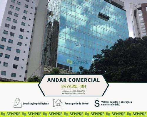 Imagem 1 de 26 de Andar Duplex Para Alugar, 260 M² E 03 Vagas - Savassi - Belo Horizonte/mg - Ac0111