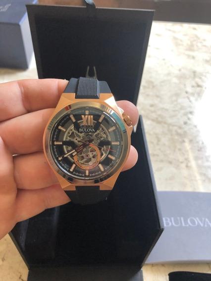 Relógio Bulova - Safira - Automatico - 98a177