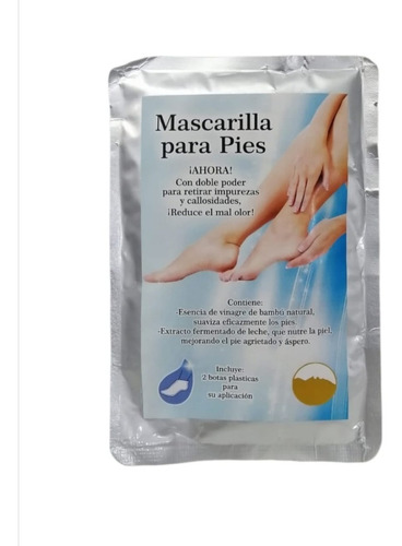 Imagen 1 de 3 de Exfoliante Para Pies Doble Poder Para Quitar Callosidades
