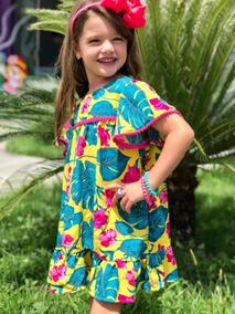 64ed7a747 Vestido Fabula Infantil Tamanho P - Vestidos Meninas P no Mercado ...