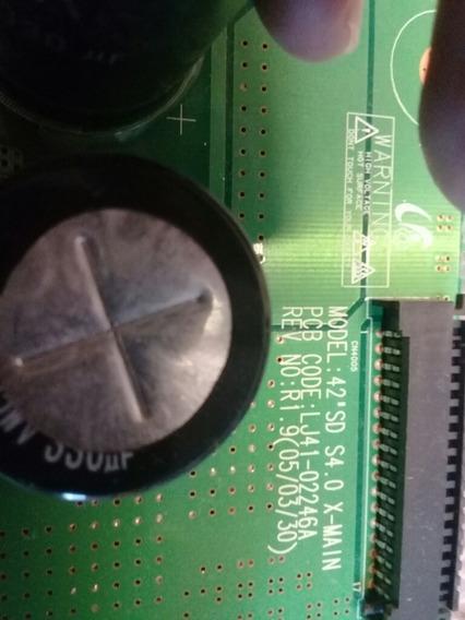 Placa Z-susx-main Tv Plilips 42pf 7320 Lj41-02246a
