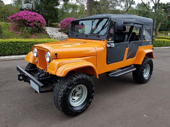 Jeep Cj6 - Bernardão 4 Pts 4x4 2.0 Turbo - Impecável - Único
