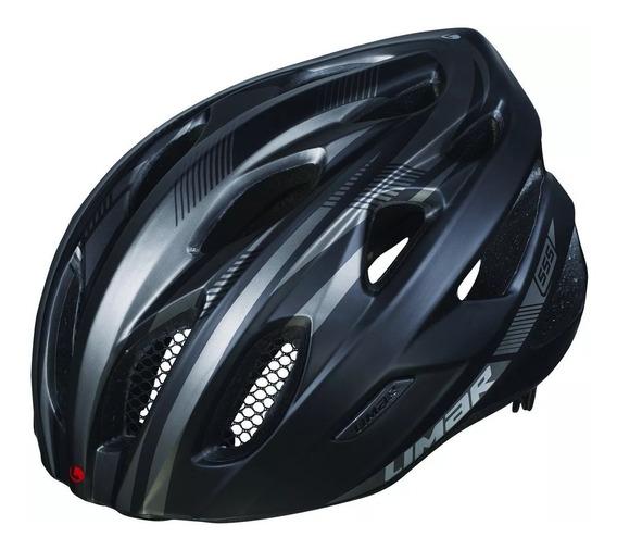 Casco Bicicleta Ruta Limar 555 Negro Mate L