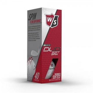 Kaddygolf Pelotas Golf Duo Soft Spin Tubo X3 Wilson Staff
