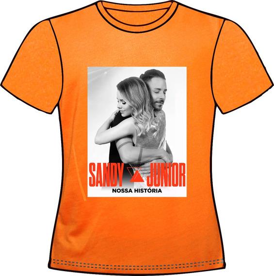 Camiseta, Baby Look Ou Almofada Sandy E Junior