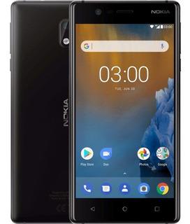Nokia 3 Android 4g 2gb Ram 16gb 8mp + 8mp Caja Sellada