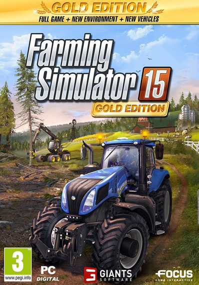 Farming Simulator 15 Gold Edition + Mods (mídia Física) Pc