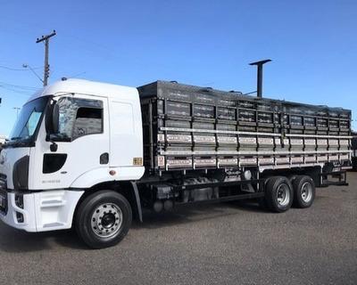 Ford Cargo 2428 6x2 Graneleiro 2012