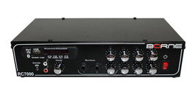 Amplificador Receiver Borne 80w C/ Bluetooth E Usb Rc7000