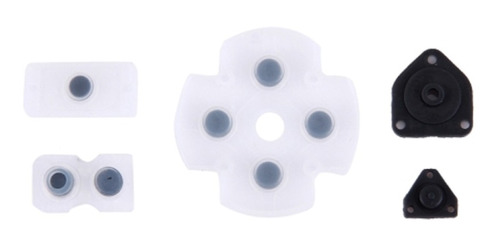 Kit Botões Controle Dual Shock Ps4 Jogo Borracha Tecla