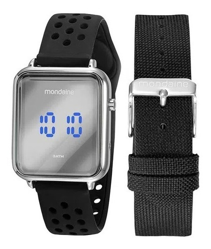 Relógio Mondaine Masculino Original Garantia Nf 32148g0mkni2