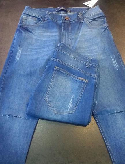 Jeans Hombre Elastizado Chupin - Be Yourself Tiendas
