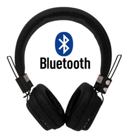 Fone Gamer De Ouvido Sem Fio Bluetooth Hi-fi Sd Fm