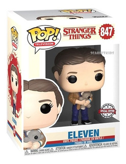 Funko Pop Eleven 847 Stranger Things Original Scarlet Kids