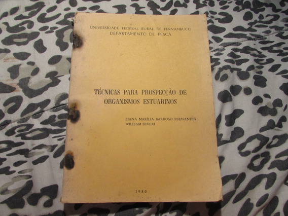 Técnicas Para Prospecção De Organismos Estuários L.fernandes
