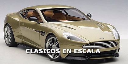 Aston Martin Vanquish 2015 Supercar - Composite Autoart 1/18