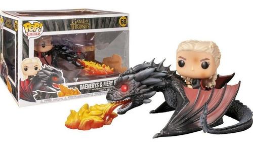 Funko Pop 68 Game Of Thrones - Daenerys On Fiery Drogon
