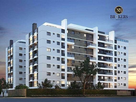 Cobertura Com 2 Dormitórios À Venda, 120 M² Por R$ 870.000,00 - Vila Izabel - Curitiba/pr - Co0056