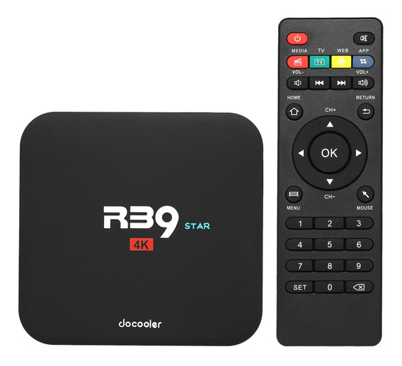 Docooler R39 Star Smart Android Tv Box Android 7.1 Rk3229