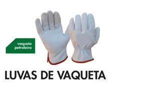 Luvas De Vaqueta, Mista, Raspa Qualquer Tipo De Luvas C/ C.a