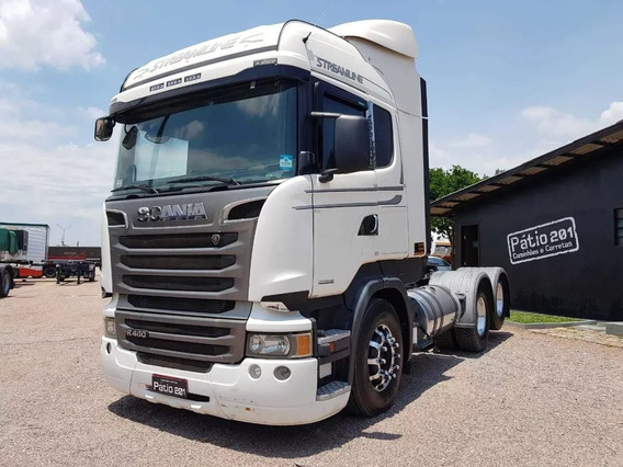 Caminhão Scania R440 Streamline Opticruise 2015 6x2 Trucado