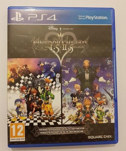Kingdom Hearts Hd 1.5 2.5 Ps4  Sellado Disponible A La Venta