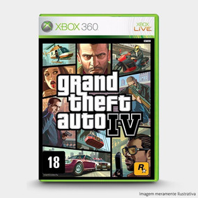 Grand Theft Auto Iv : Original Xbox 360 - Novo