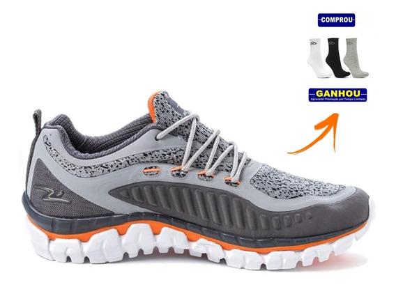 Tênis Sapato Nº 45 + Meia Sport (oferta Rêlampago )