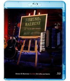 Blu-ray Bruno E Marrone - De Volta Aos Bares Ao Vivo