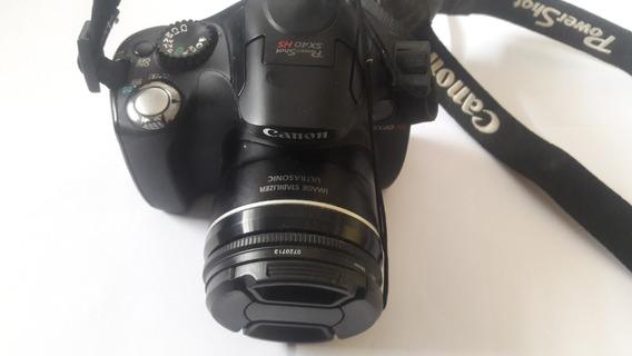 Camara Canon Sx40 Com Cartao De 128gb