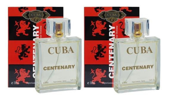 Kit 2 Perfumes Cuba Centenary 2 X 100ml Masculino