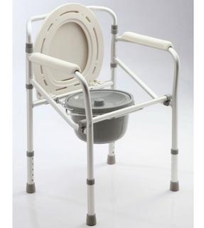Care Quip Inodoro Portatil Aluminio Plegable D317
