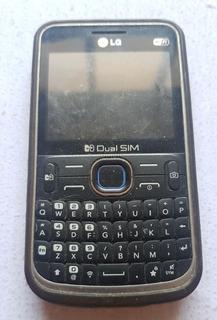 Telefone Celular LG C397 Sucata Ref: R293