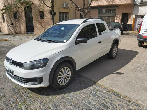 Volkswagen Saveiro 1.6 Highline Gp 2016 Impecable