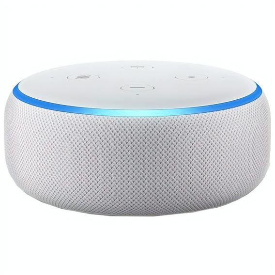 Echo Dot Amazon Smart Speaker Alexa 3 Geracao Em Portugues