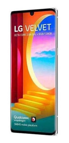 Celular Smartphone LG Velvet G910em 128gb Branco - Dual Chip