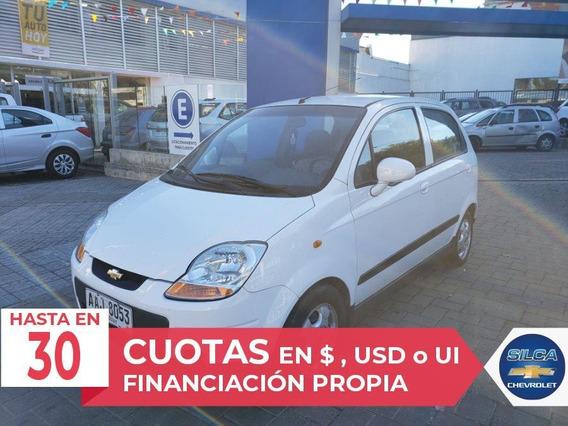 Chevrolet Spark Lt 2014 Blanco 5 Puertas