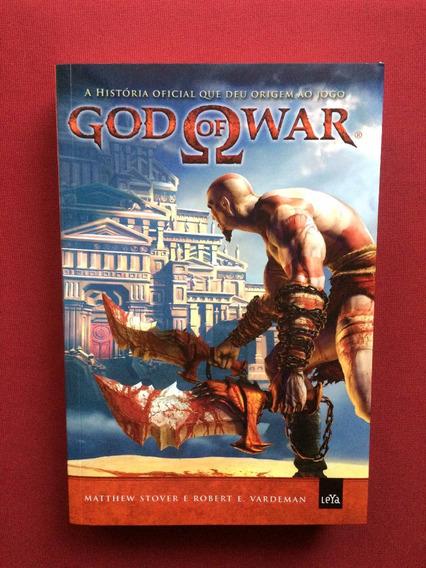 Livro - God Of War I - Matthew Stover - Ed. Leya - Seminovo