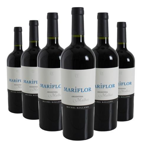 Imagen 1 de 10 de Vino Mariflor Malbec Caja X 6 X 750ml.  Envío Gratis!