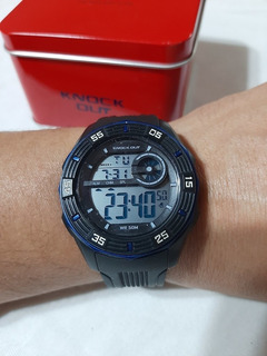 Reloj Hombre Knock Out Sumergible Digital