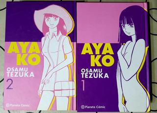 Ayako - Tomo 1 Y 2 - Tapa Dura- Planeta Comic - Osamu Tezuka