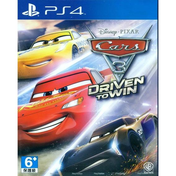 Cars 3: Drive To Win Ps4 Mídia Física Lacrado