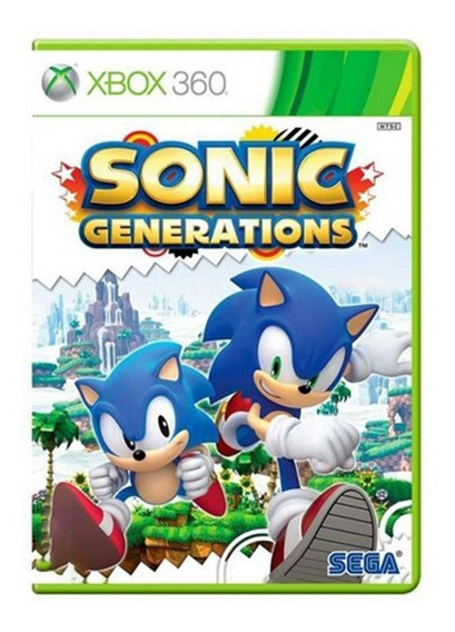 Sonic Generations - Xbox 360 - Usado - Original