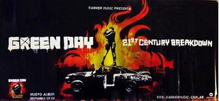 Green Day - 21 Century Breakdown Poster Promocion Original
