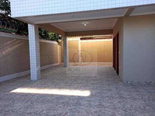 Casa Com 2 Dormitórios,2 Suítes, 4 Banheiros E 2 Vagas À Venda, 102 M² Por R$ 408.000 - Vila São Jorge - Santos/sp - Ca1926