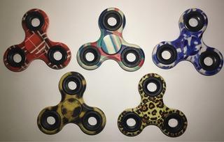Fidget Spinner Colores Camuflaje Anti-estrés